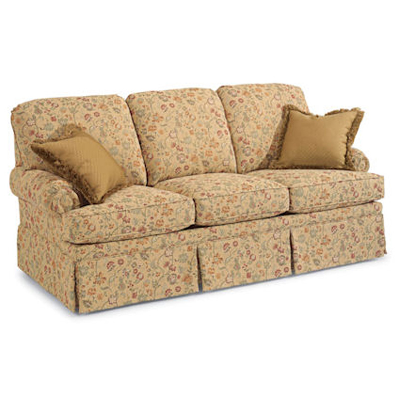 Bungalow Furniture Store: Flexsteel 5612-31 Bungalow Sofa Discount Furniture At