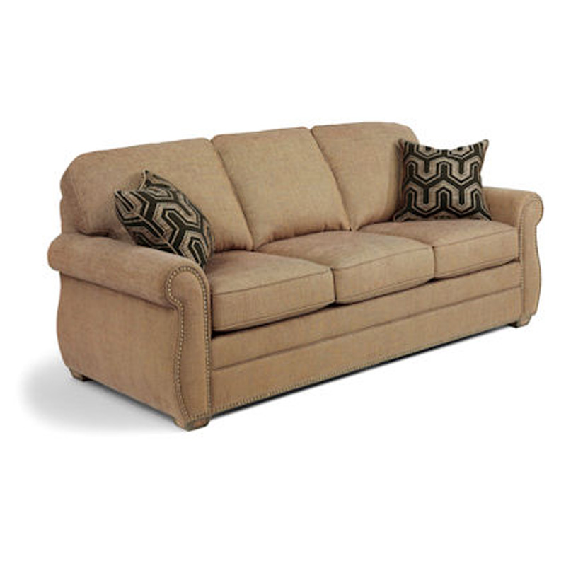 Flexsteel Sofa Locations: Flexsteel 5644-31 Whitney Sofa With Nails Discount