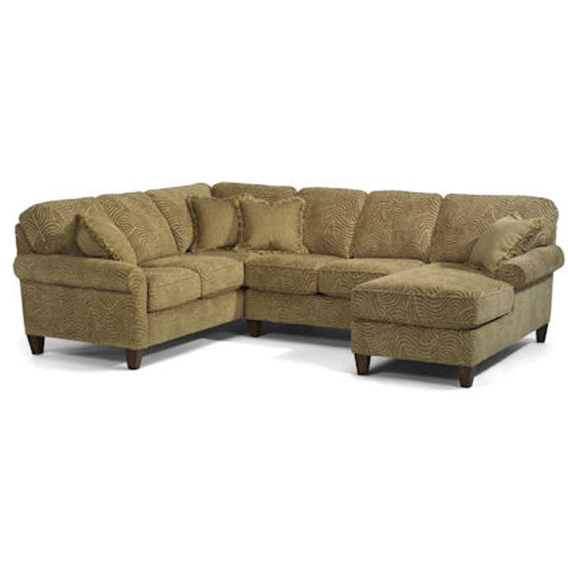 Flexsteel 5979 Sect Westside Sectional Discount Furniture
