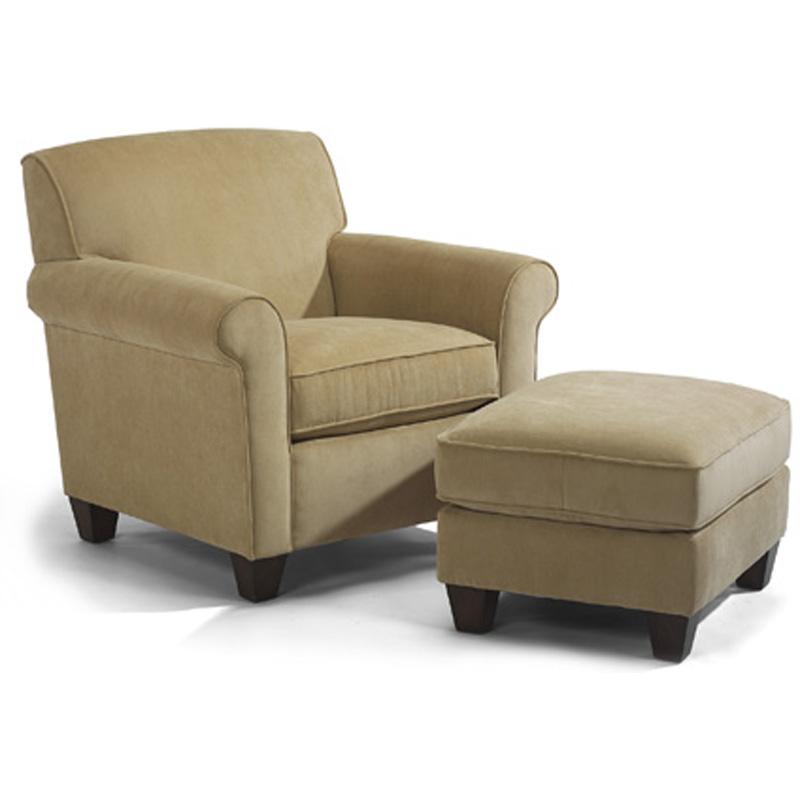 Flexsteel 5990 10 08 Dana Chair And Ottoman Discount
