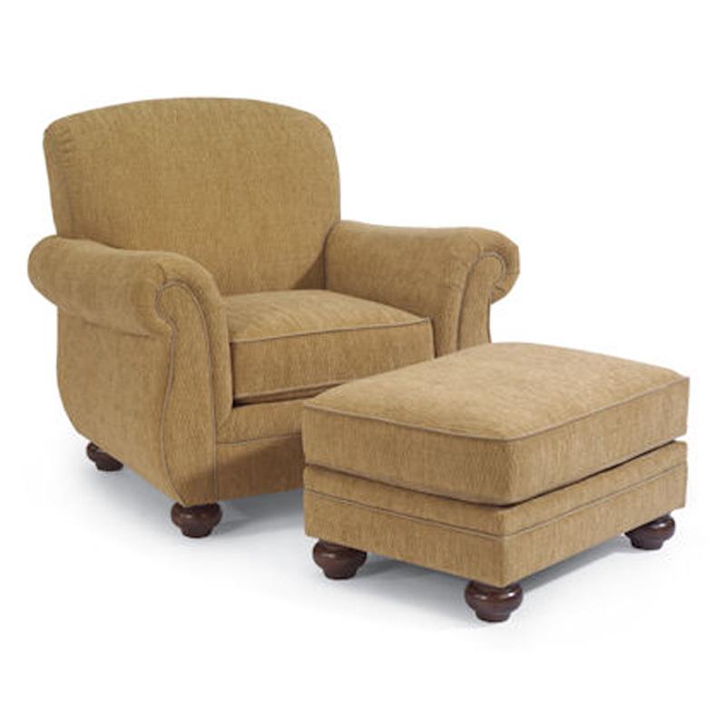 Flexsteel Furniture In Albuquerque: Flexsteel 5997-10-08 Winston Chair And Ottoman Discount