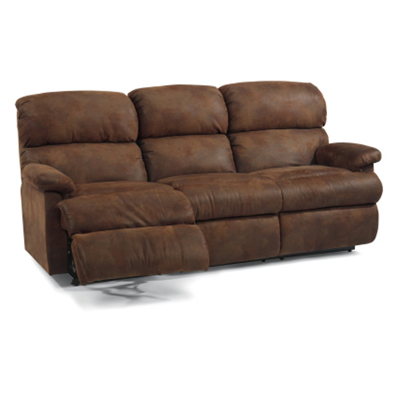 Cheap Recliner Sofas For Sale Triple Reclining Sofa Fabric: Flexsteel 7066-62 Chicago Double Reclining Sofa Discount