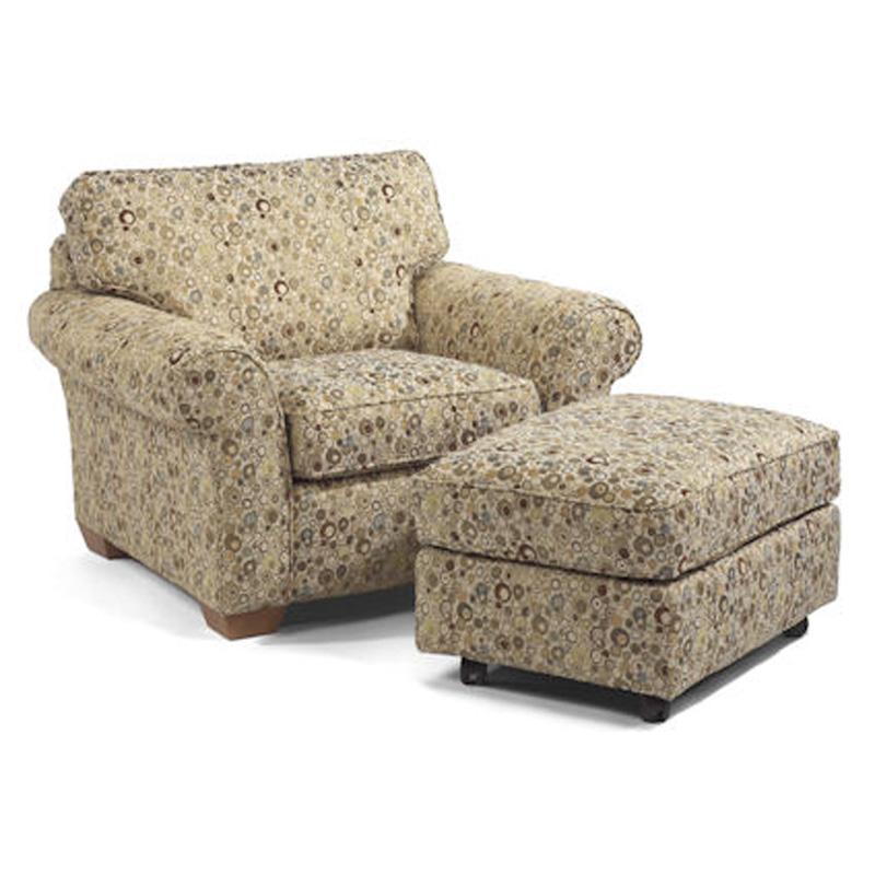 Flexsteel Vail Sofa Price: Flexsteel 7305-10-08 Vail Chair And Ottoman Discount