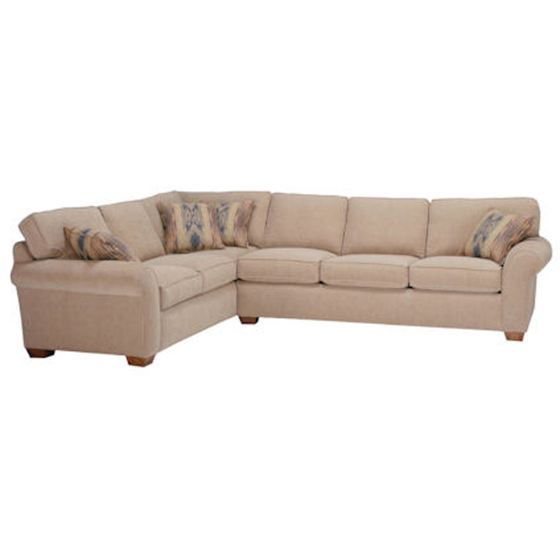 Flexsteel Vail Sofa Price: Flexsteel 7305-Sect Vail Sectional Discount Furniture At