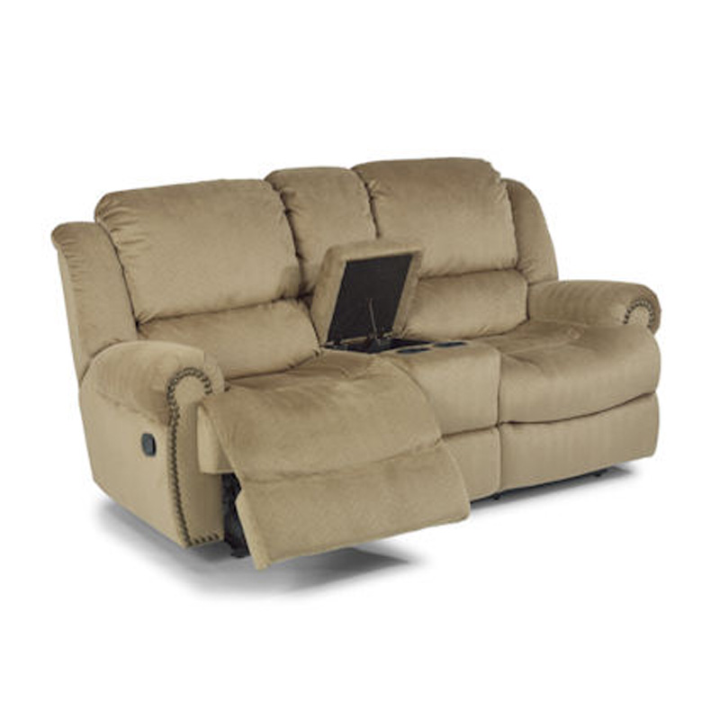 Flexsteel 7311 601 Capitol Reclining Love Seat With