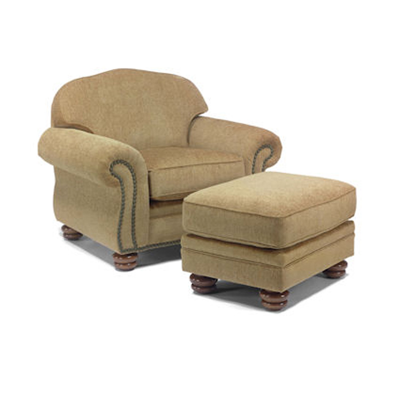 Flexsteel 8648 10 08 Bexley Chair And Ottoman Discount