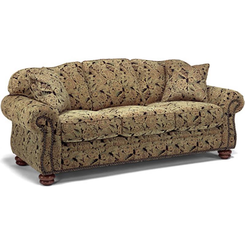 Flexsteel 8648 31 Bexley Sofa With Nails Discount