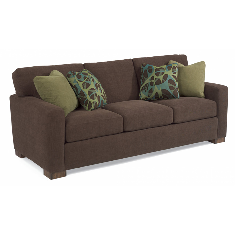 Flexsteel 7399 31 Bryant Fabric Sofa Discount Furniture At