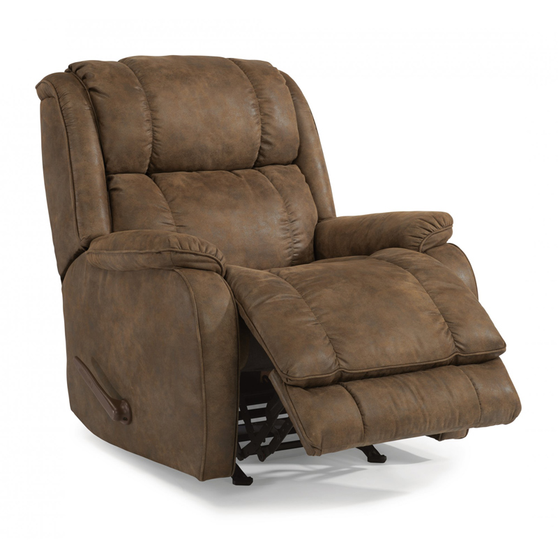 Flexsteel 2849 53 Marcus Fabric Swivel Gliding Recliner