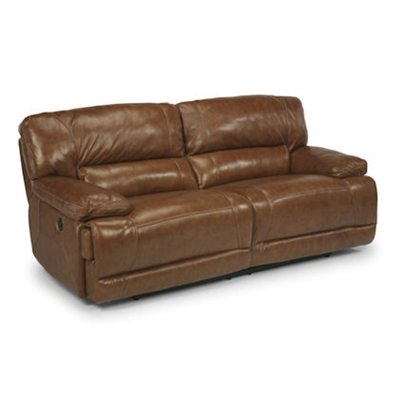 Flexsteel 1237 62p Fleet Street Leather Power Reclining