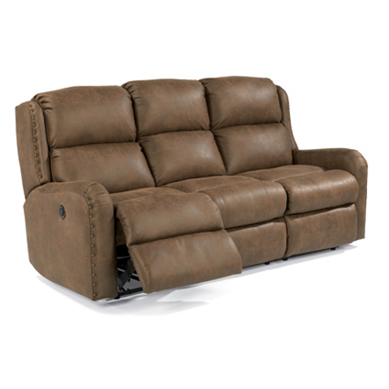 Flexsteel Sofa Locations: Flexsteel 4892-62M Cameron Fabric Power Reclining Sofa
