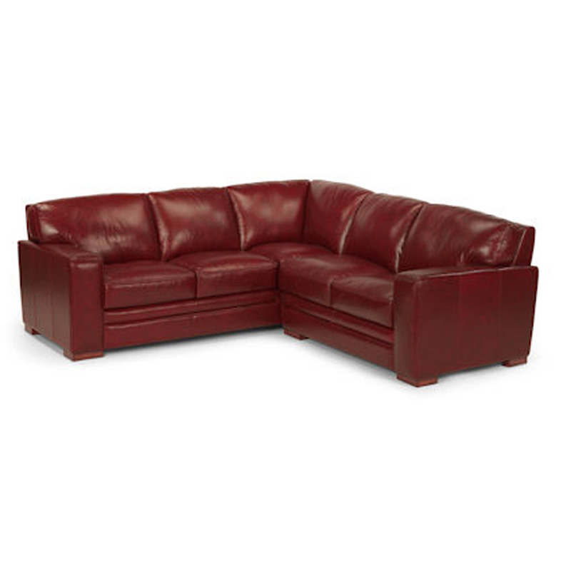 Flexsteel Sectional Sofa Living Room