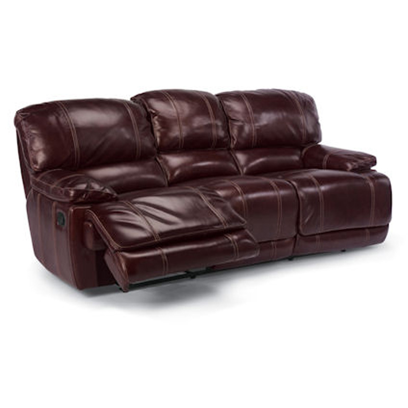 American Freight Furniture In Decature Il: Flexsteel 1250-62 Belmont Double Reclining Sofa Discount