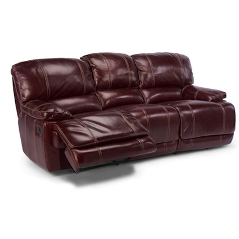 Flexsteel Sofa Vintage: Flexsteel 1250-62P Belmont Power Reclining Sofa Discount