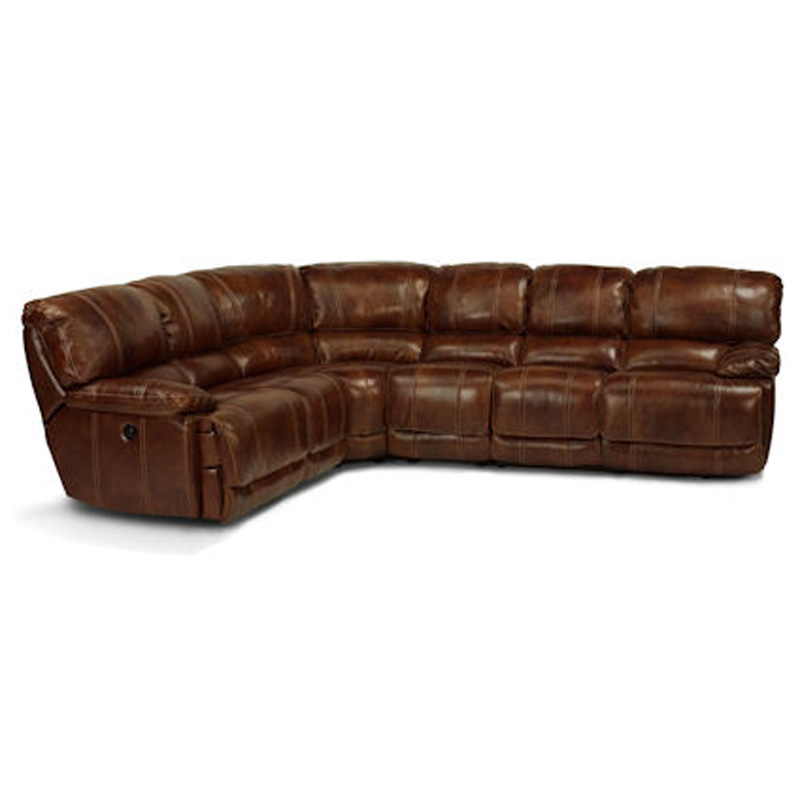 Flexsteel 1250 sectional belmont sectional discount furniture at