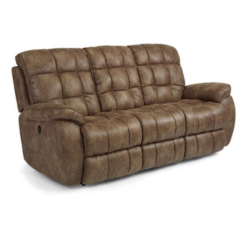 Flexsteel 1449 62p Nashua Power Reclining Sofa Discount
