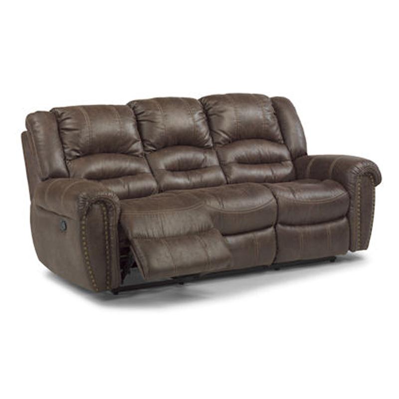 Flexsteel 1710 62 Downtown Double Reclining Sofa Discount