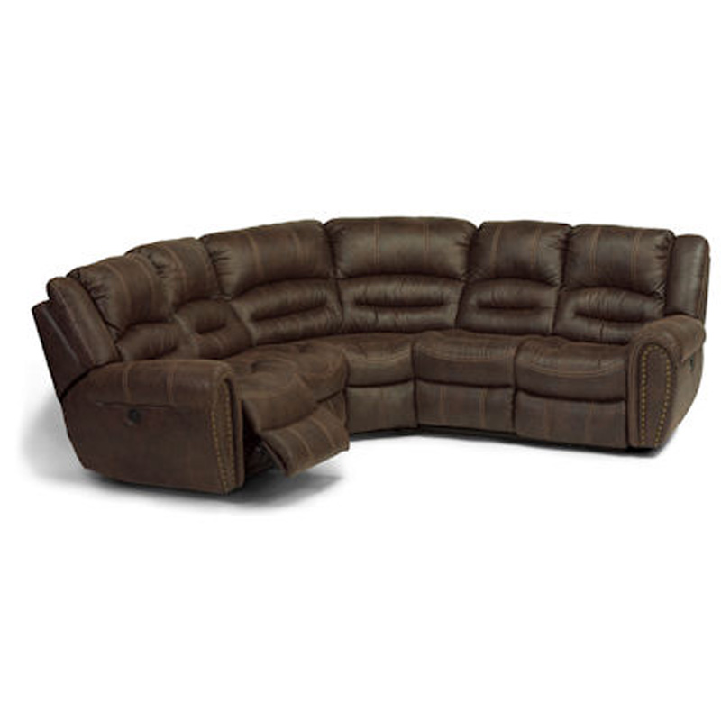 Flexsteel 1710 Sectional Downtown Sectional Discount