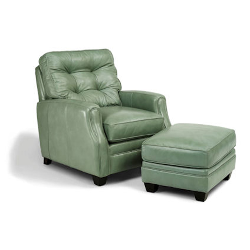 Cheap Furniture Delivered: Flexsteel 1782-10-08 Flamenco Chair And Ottoman Discount