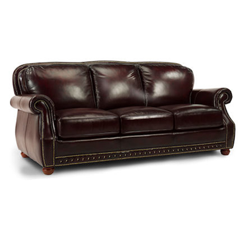 Flexsteel Sofa Mission: Flexsteel Sofa Mission Hills Sale LEATHERANDMOTION Hickory