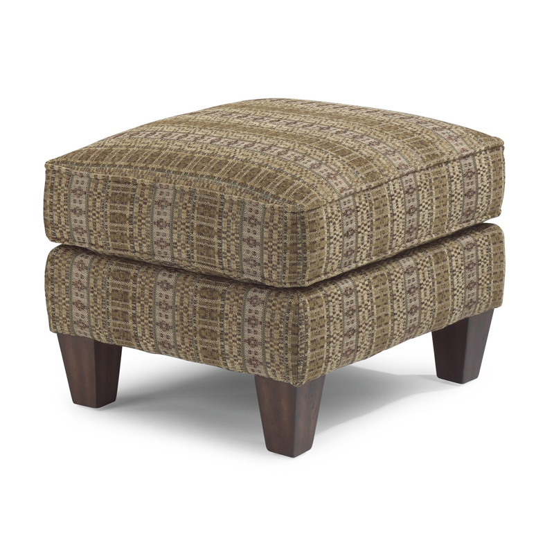 Flexsteel 086c 08 Stafford Fabric Ottoman Discount