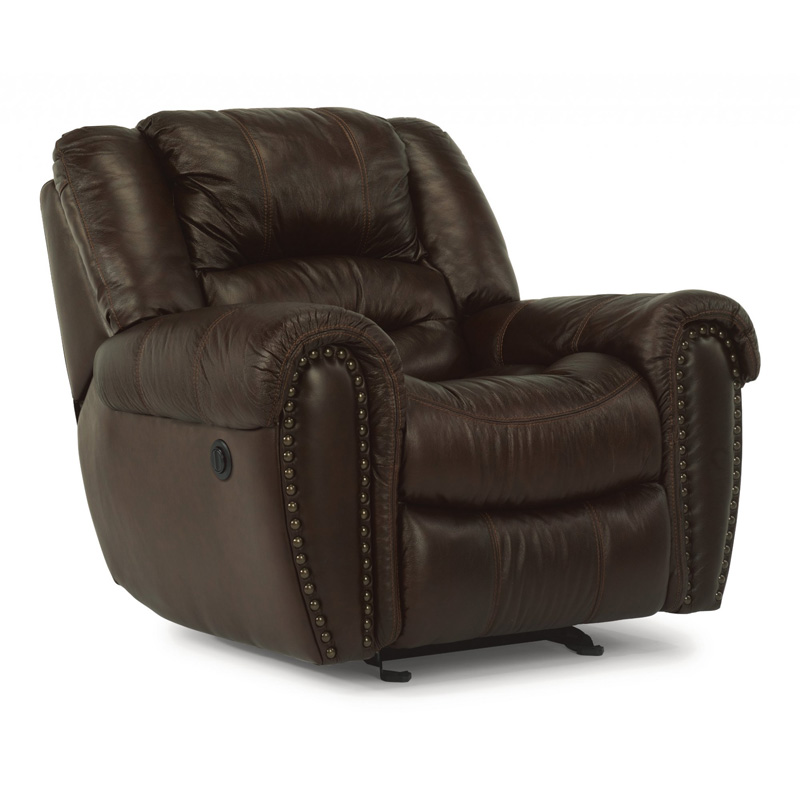 Flexsteel 1210 50p Crosstown Leather Power Recliner