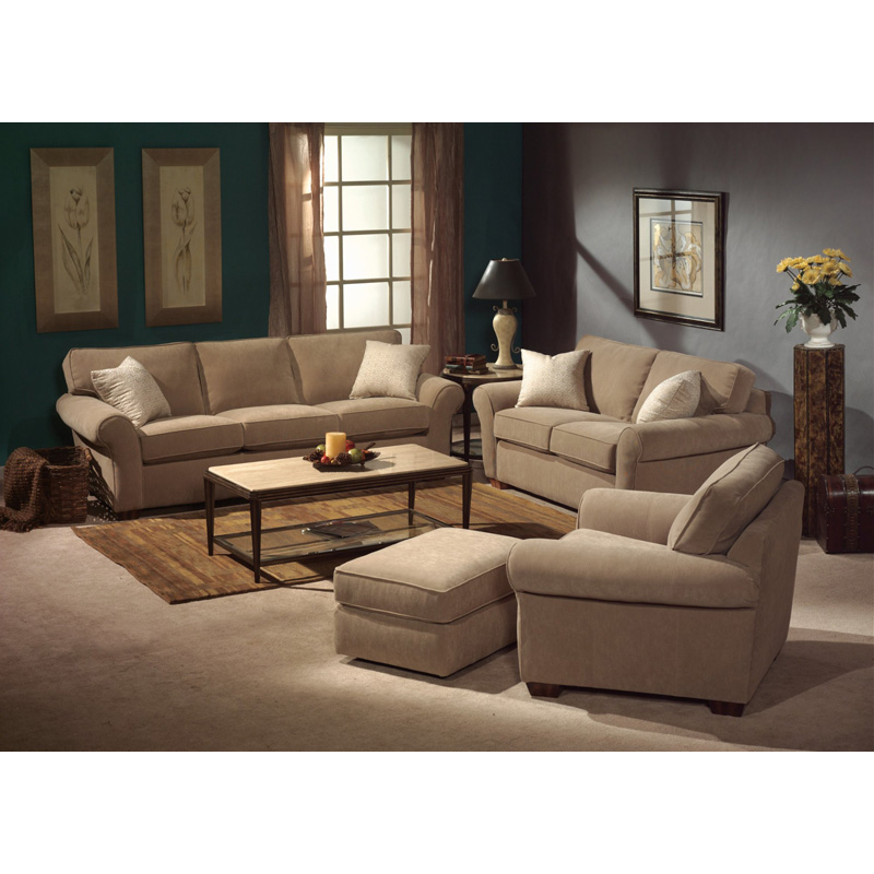Leather Furniture Outlet North Carolina: Flexsteel 3305-10 Vail Leather Chair Discount Furniture At