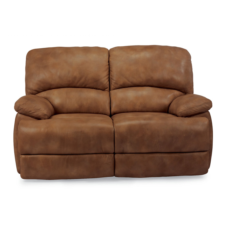 Flexsteel 1127 600p Dylan Leather Power Chaise Reclining Loveseat Discount Furniture At Hickory