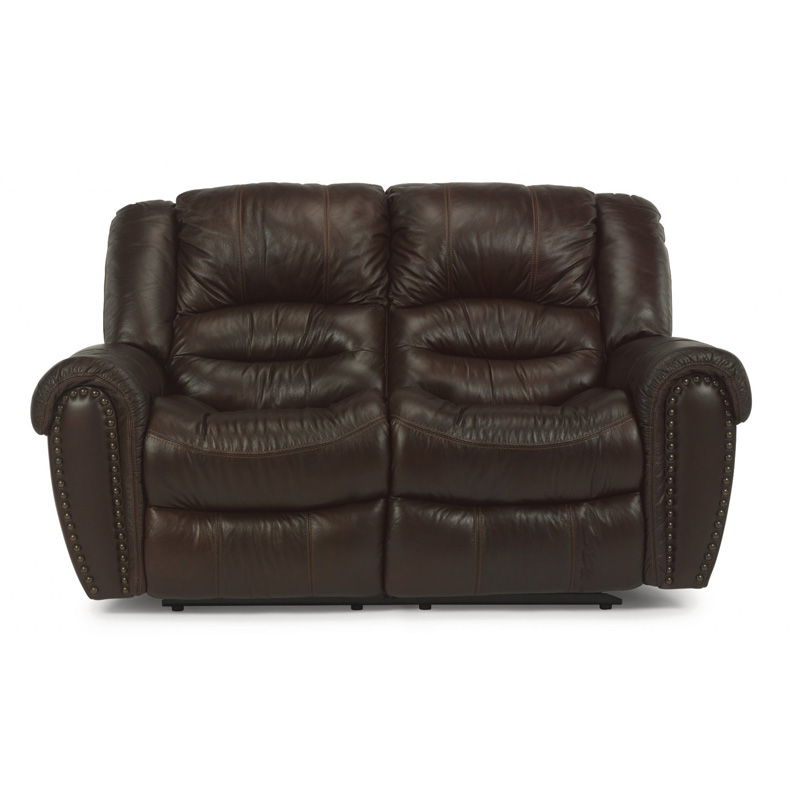 Flexsteel 1210 60P Crosstown Leather Power Reclining