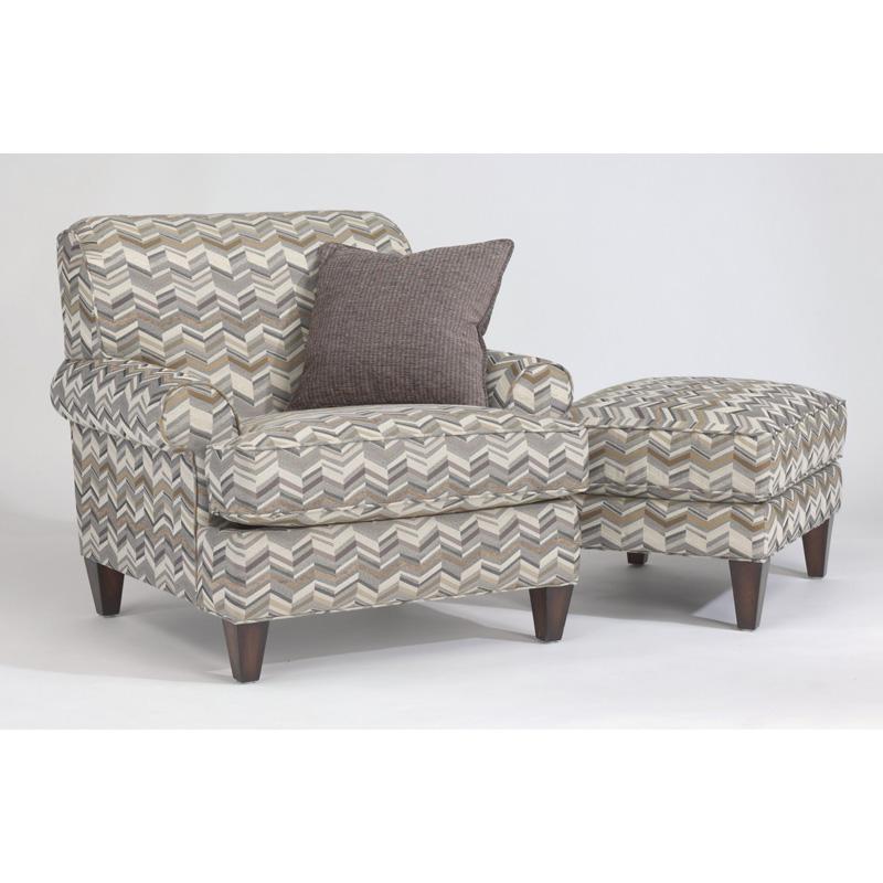 Flexsteel 5654 10 Venture Fabric Chair Discount Furniture