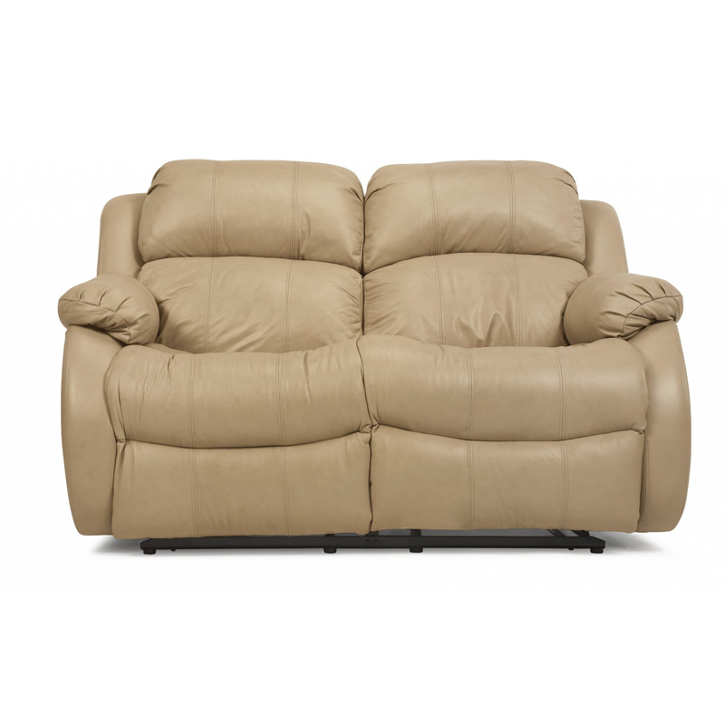 Flexsteel 1206 60 Brandon Leather Reclining Loveseat Discount Furniture At Hickory Park