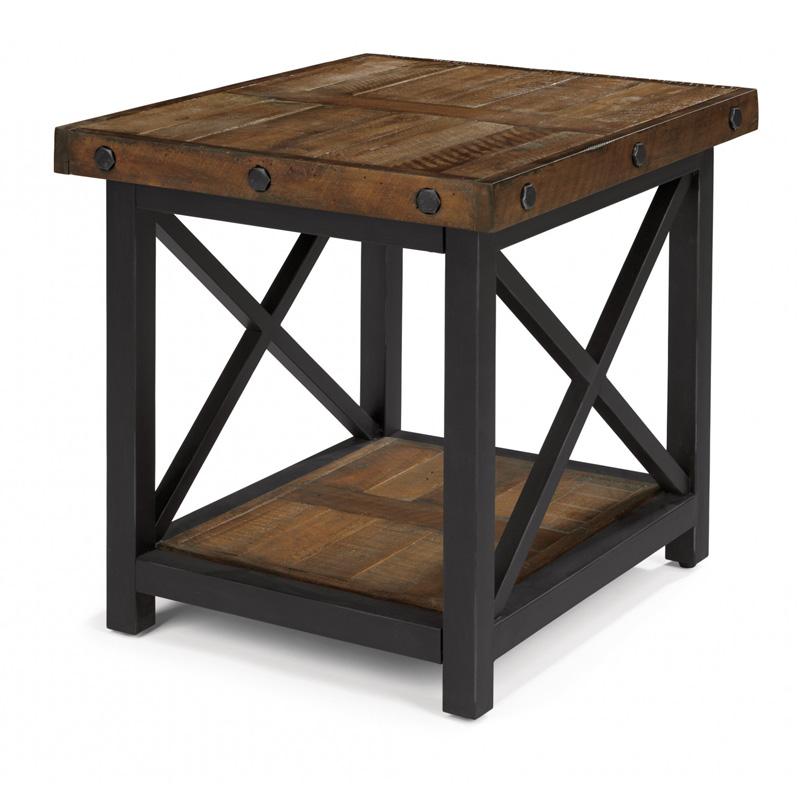 Flexsteel 6722 01 Carpenter End Table Discount Furniture