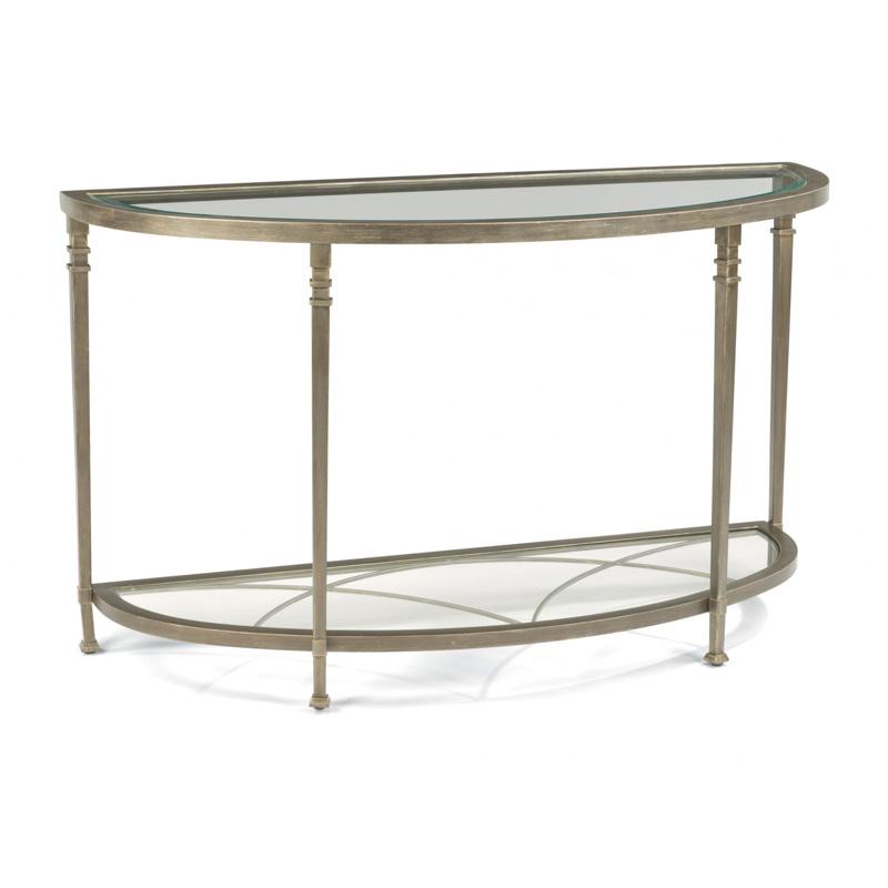 Flexsteel 6725 04 Atrium Sofa Table Discount Furniture At