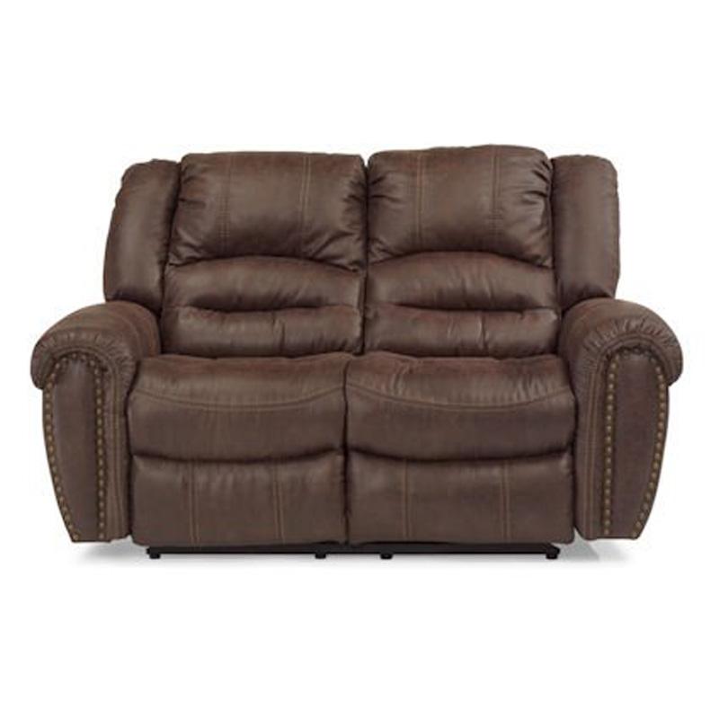 Flexsteel Electric Sofa: Flexsteel 1710-60P Downtown Fabric Power Reclining