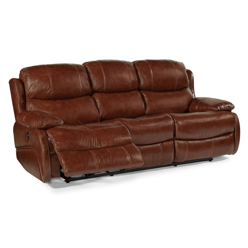 Leather Power Reclining Sofa 1677 62P