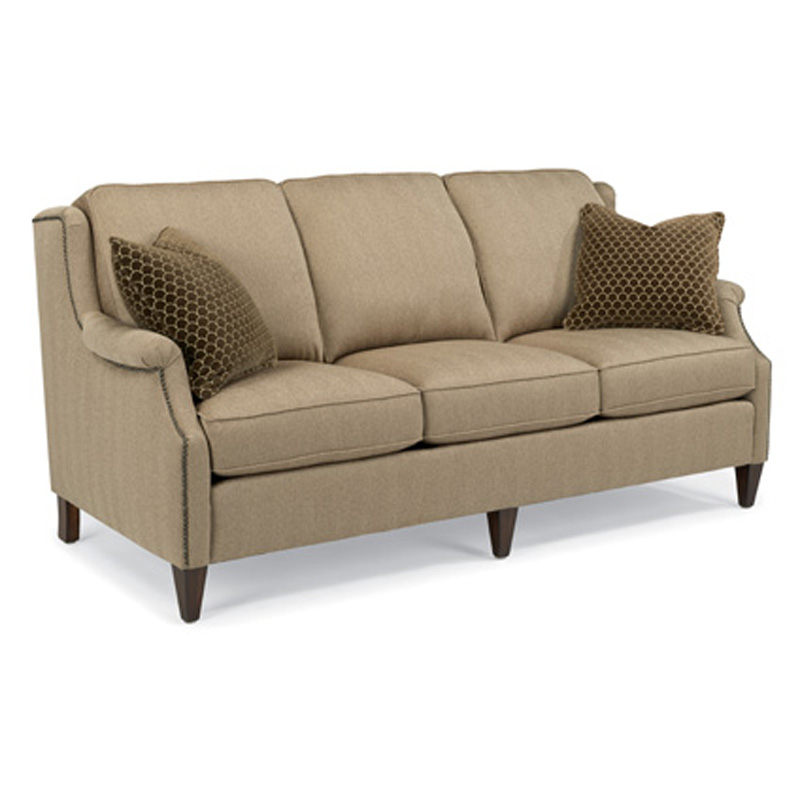 Flexsteel 5633 31 Zevon Fabric Sofa Discount Furniture At