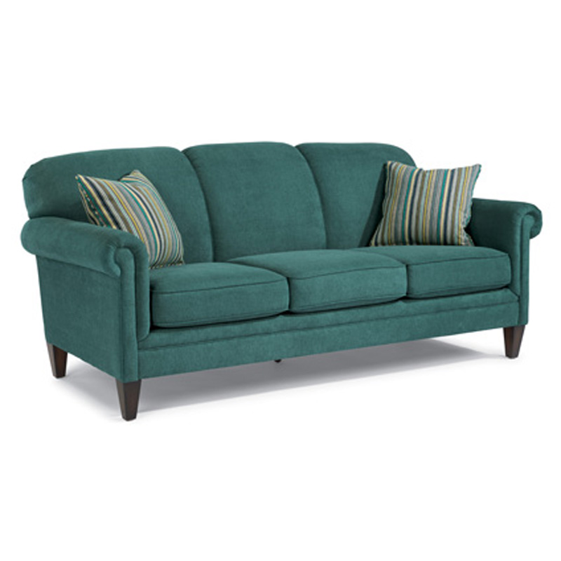 Flexsteel 5676 31 amelia fabric sofa without nails for Affordable furniture number