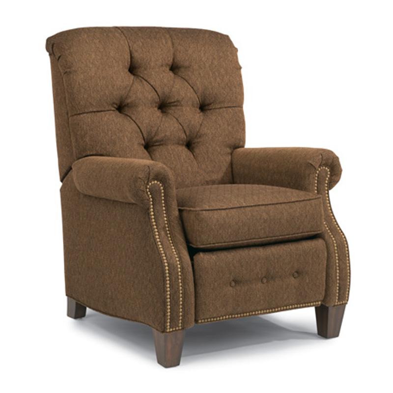 Flexsteel 7386 503 Champion Fabric High Leg Recliner