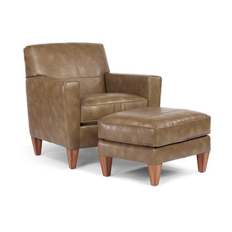 Flexsteel N5966-10-08 Digby Chair And Ottoman Discount