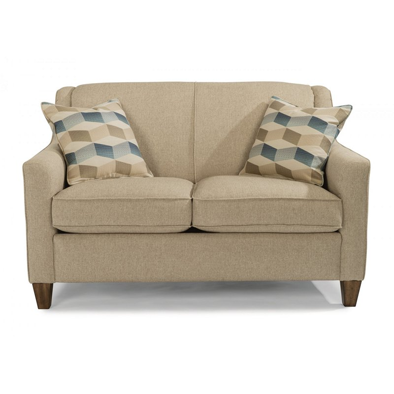Flexsteel 5118 20 Holly Fabric Loveseat Discount Furniture