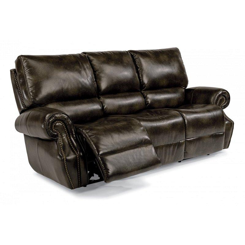 Flexsteel 1582 62ph Colton Fabric Power Reclining Sofa