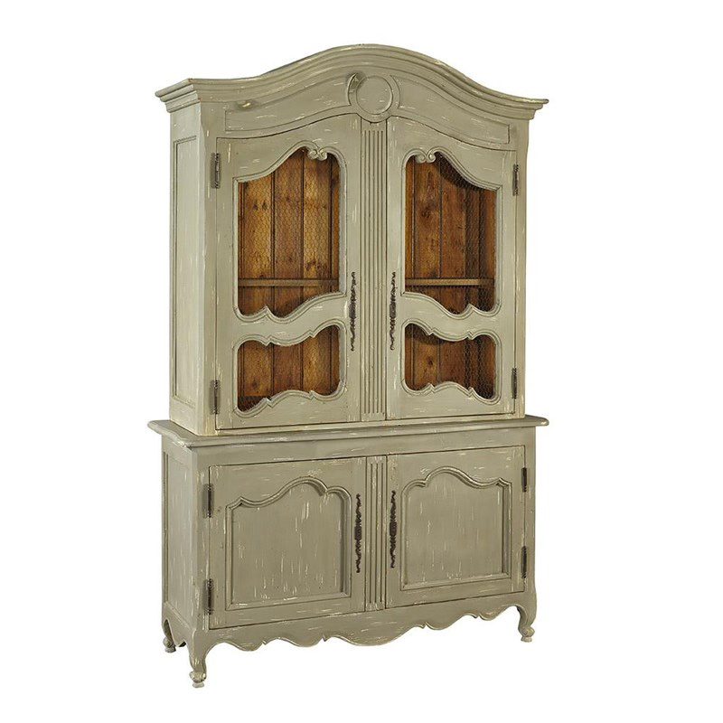 furniture classics 2245a23 fc living room french country cabinet discount furniture at hickory. Black Bedroom Furniture Sets. Home Design Ideas