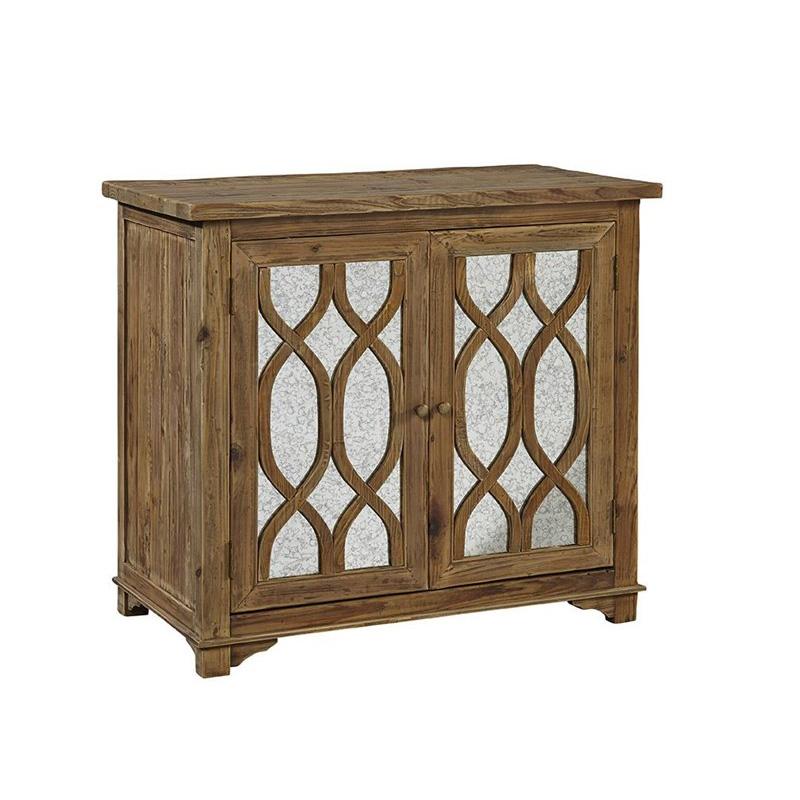 Furniture Classics Single Mirrored Side Table