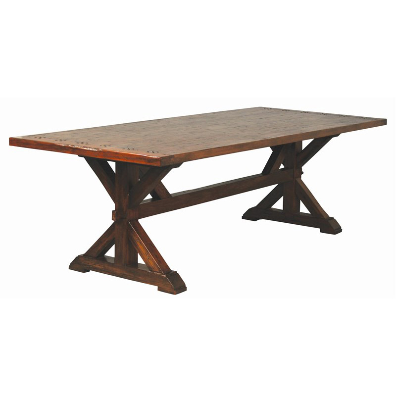 Furniture Classics 8 Foot Trestle Dining Table