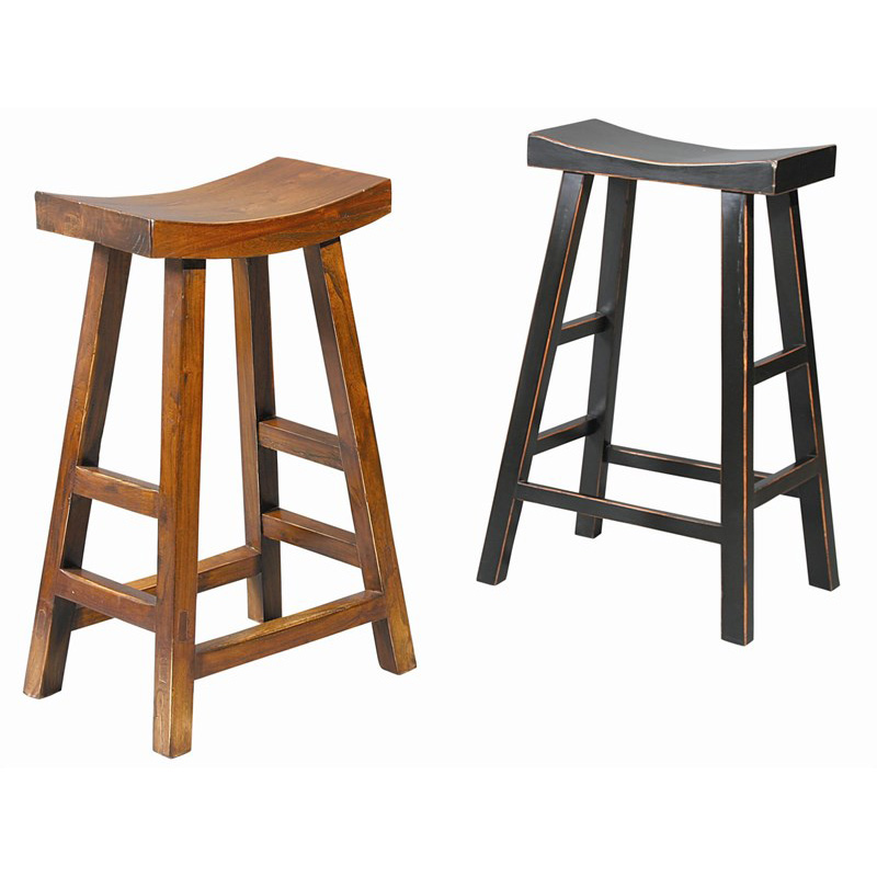 Furniture Classics 70076brn Fc Dining Crescent Bar Stool