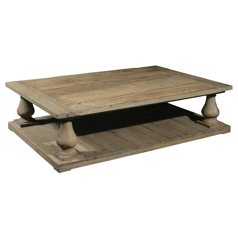 Furniture Classics Old Pine Baluster Coffee Table