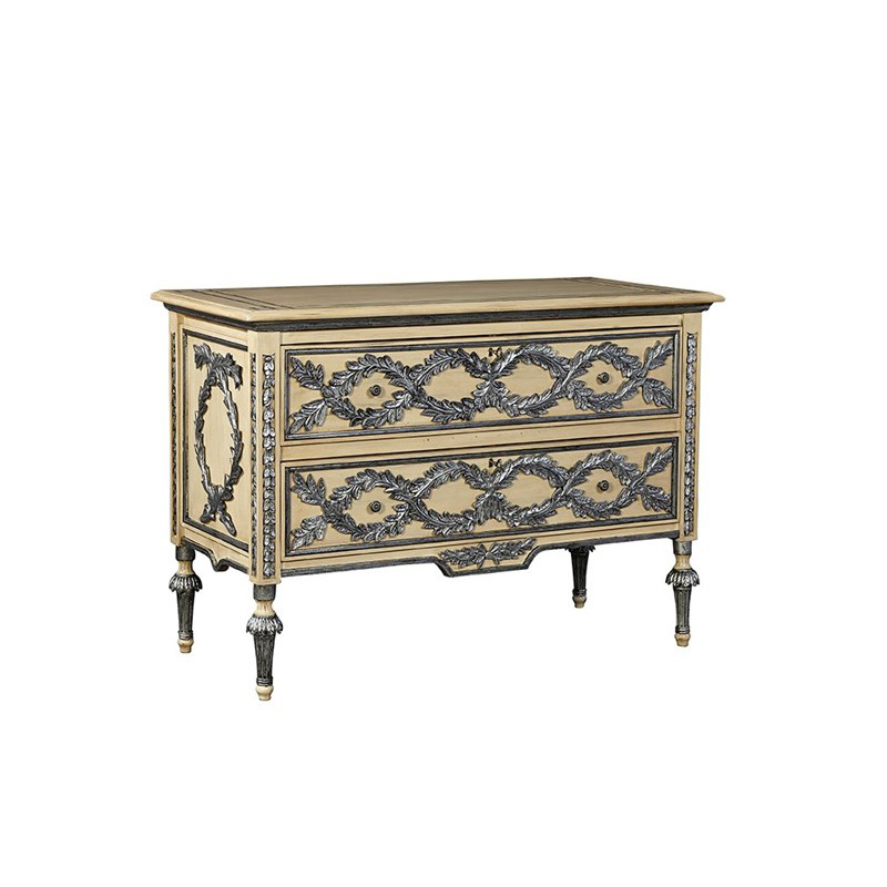 Furniture Classics 2189aa49 Fc Accents Tuscan Silver Leaf Chest Discount Furniture At Hickory