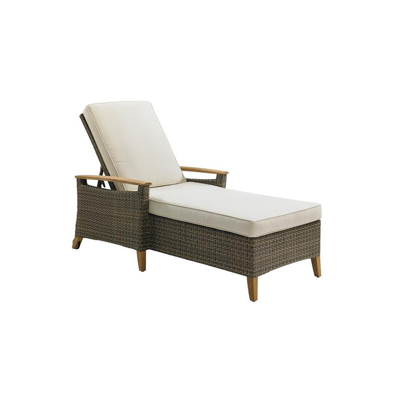 gloster 8550 pepper marsh chaise discount furniture at. Black Bedroom Furniture Sets. Home Design Ideas