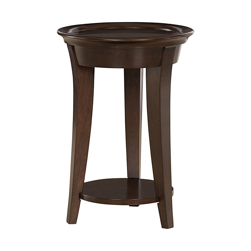 Hammary 365 916 umbria round end table discount furniture for Furniture 365