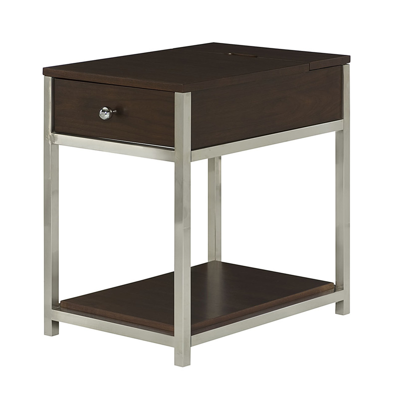 Hammary 460 916 xpress charging chairside table discount for Furniture xpress